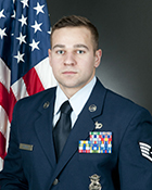 Staff Sergeant Joshua Pluta is the 167th Airlift Wing's Non-commisioned officer of the Year.